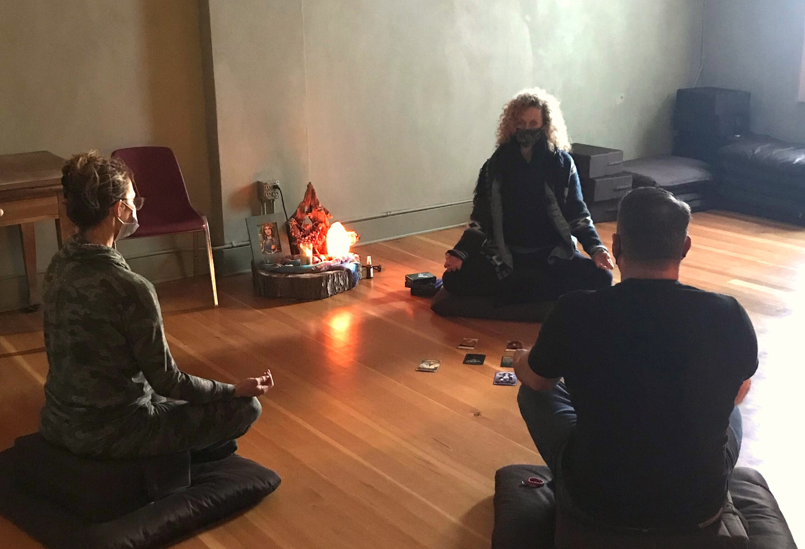 drop in guided meditation at the hawthorn tree in cheyenne
